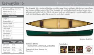 keewaydin161_canoes for sale_adirondacks ny